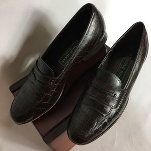Cole Haan Woman's Brown Penny Loafer